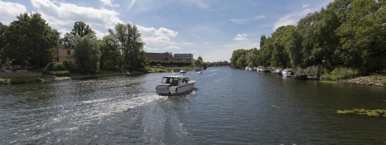 Der Beetzsee liegt bei Brandenburg an der Havel.