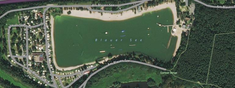 Der Blaue See in Garbsen ist einer der schönsten Baggerseen der Gegend.
