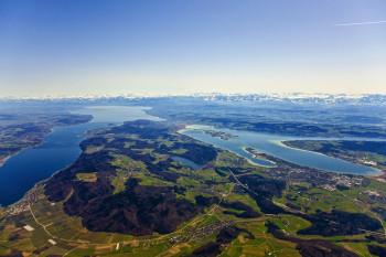 Der Bodensee ist einer der größten Seen Europas.