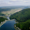 Der Diemelsee ist ein im 20. Jahrhundert erbauter Stausee.