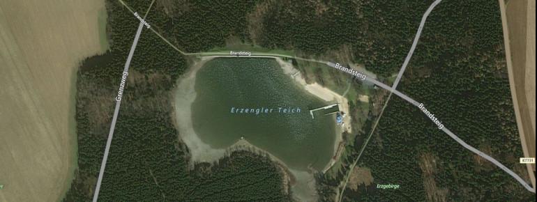 Satellitenbild Erzengler Teich