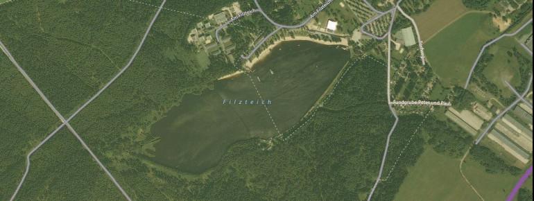 Satellitenbild Filzteich