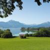 Der Forggensee im Allgäu ist der fünftgrößte See in Bayern.