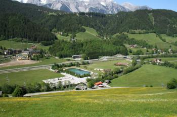 Überblick Pichl Badesee
