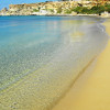 Der flach abfallende Strand ist auch für Familien gut geeignet.