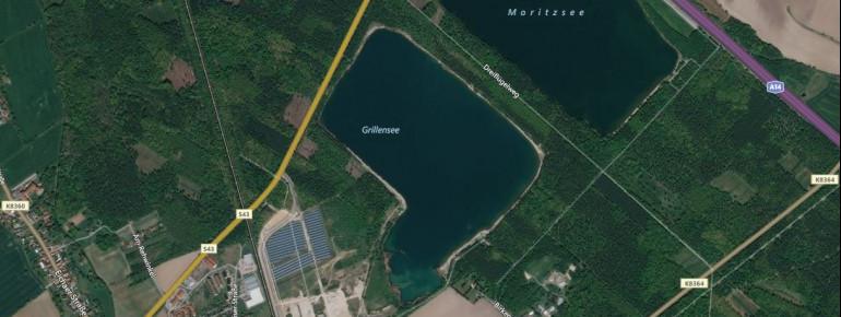 Satellitenbild Naunhofer See