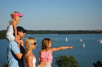 Vor allem für Familien ist ein Ausflug zum Großen Plöner See wegen der Vielzahl an Aktivitäten sehr zu empfehlen