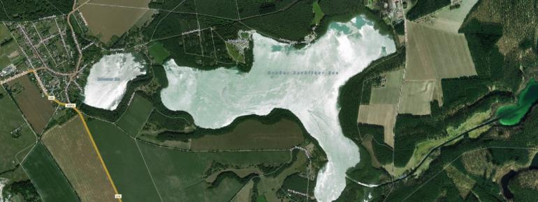Der Große Zechliner See liegt im Ruppiner Seengebiet.