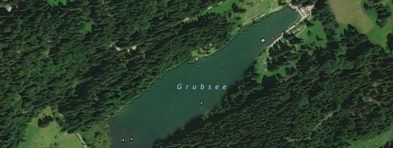 Der Grubsee ist einer der kleinsten Badeseen der Region.