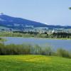 Baden mit Blick auf en 1.738 Meter hohen Grünten.