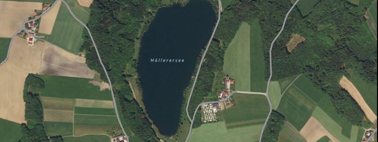 Satellitenbild Höllerer See