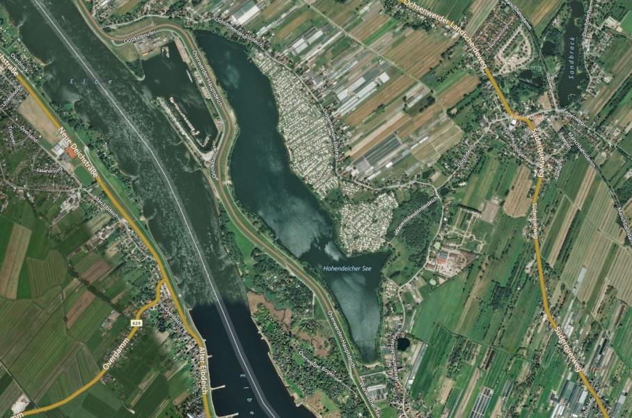 Wassertemperatur Hohendeicher See