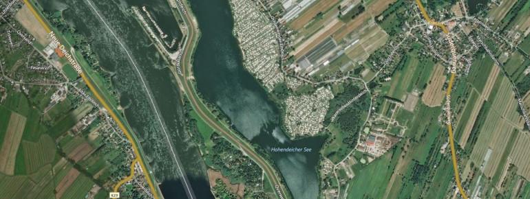 Der Hohendeicher See in Hamburg gilt als Paradies für Wassersportler.