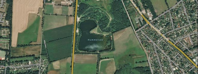 Satellitenbild Hummelsee