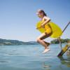 Der Irrsee zählt zu den wärmsten Seen im Salzkammergut.