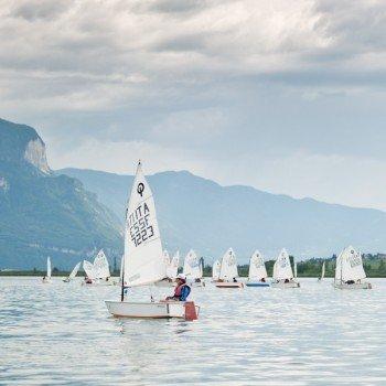 Regatta am Kalterer See