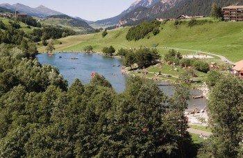 Der See ist mit Auto und Postbus zu erreichen