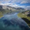 Der längste See der Rockies
