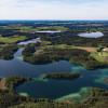 Blick auf den Langbürgner See in der Eggstätt-Hemhofer Seenplatte