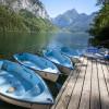 In der Nähe des Restaurants besteht die Möglichkeit Tret- und Ruderboote auszuleihen.