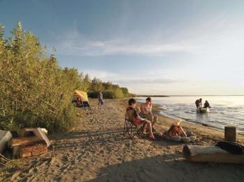 Entspannen am Lesser Slave Lake