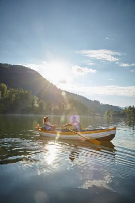 Am Lunzer See lassen sich entspannte Stunden genießen!