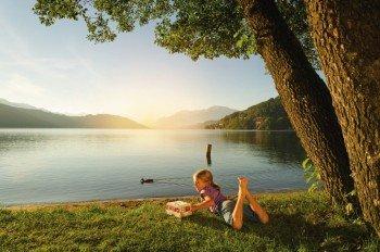 Vor allem bei Campingurlaubern ist der Millstätter See ein beliebtes Ziel für den Sommerurlaub