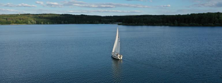 Der Möhnesee ist auch als Westfälisches Meer bekannt.