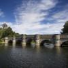 Die Kanzelbrücke am Möhnesee bei Wamel ist ein echter Hingucker.