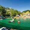 Der Wasserpark Russbach bietet Spaß für Groß und Klein