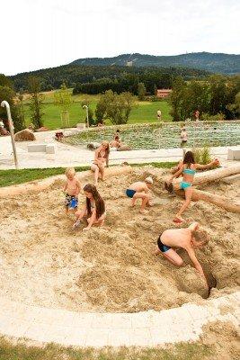 Sandkasten (Kinderspielplatz)