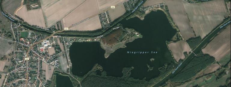 Satellitenbild Niegripper See