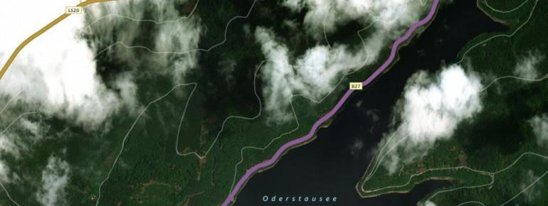 Die Odertalsperre ist ein beliebtes Ausflugsziel im Harz.
