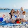 Familien-Spaß am Strand von Boltenhagen
