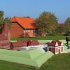 Auf dem Gelände des Heimatmuseums entsteht ein Modell der Schlosswallanlage, die im 30-jährigen Krieg zerstört wurde.
