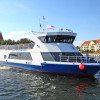 Die Adler-Fahrgastschiffe laden zu einer Schiffsfahrt von der Inselhauptgemeinde Kirchdorf zur Hansestadt Wismar ein.
