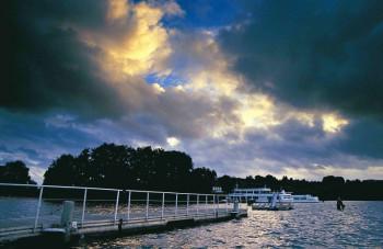 Auch eine Schifffahrt gibt es auf dem Ratzeburger See.