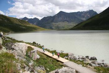 Der Rifflsee ist der höchstgelegene Bergsee Tirols.