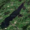 Der Rottachsee aus der Vogelperspektive