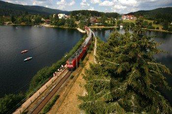 Mit dem Zug an den Schluchsee