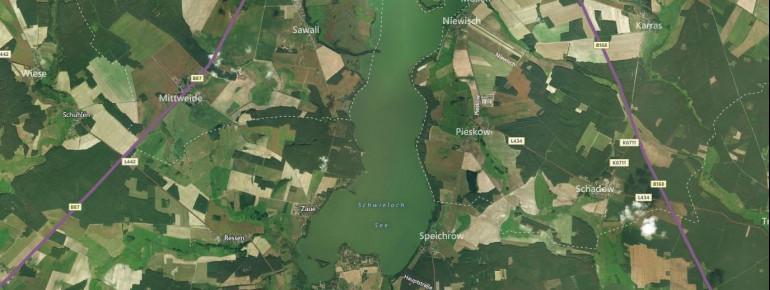 Satellitenbild Schwielochsee