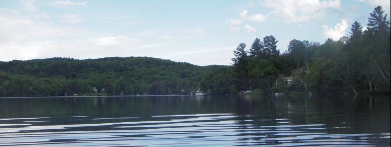 Der Silver Lake in Barnard, Vermont.