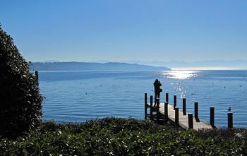 Der Starnberger See im Herbst