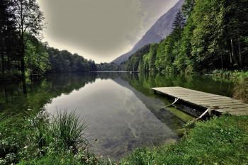 Der Stimmmersee: Einer der saubersten Seen in Österreich.