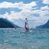 North bank of Lake Garda: wind surfing in Torbole