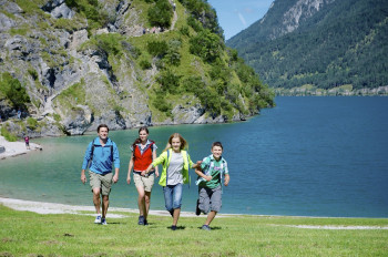 The region around Lake Achen is perfect for hiking.
