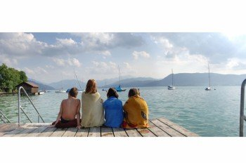 Lake Attersee provides tons of fun activities for young and old!