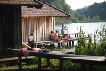 At lake Griessee