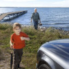 Lesser Slave Lake is partially reachable by car