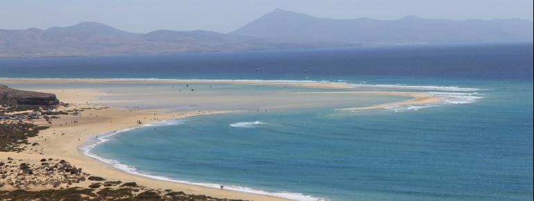 Beach Playa De Sotavento De Jandía Bathing Water Temperature